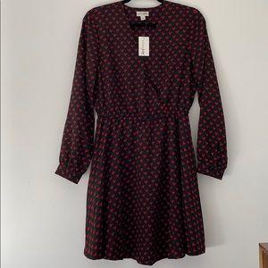 Macy's Black Hearts Maison Jules Dress, NWT